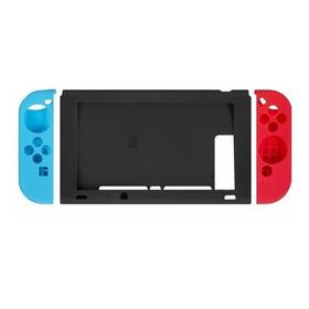 Fundas Silicona Nintendo Switch Neon + Vidrio Protector!!!