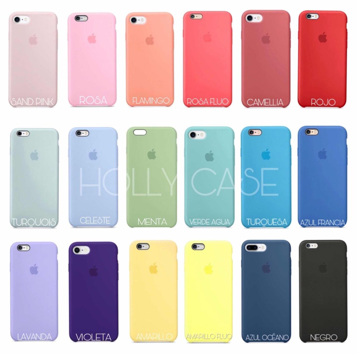 4aadf293f73 fundas silicone originales iphone 6/6s plus 7/8 plus colores. Cargando zoom.