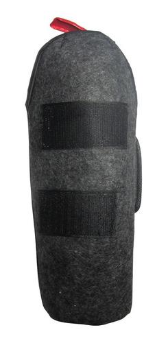 fundas soporte cobertor con abrojo para matafuego de auto