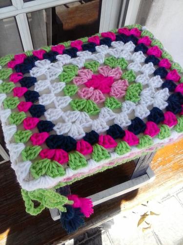 fundas tejida crochet