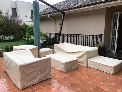 fundas y forros protectores para muebles de terraza