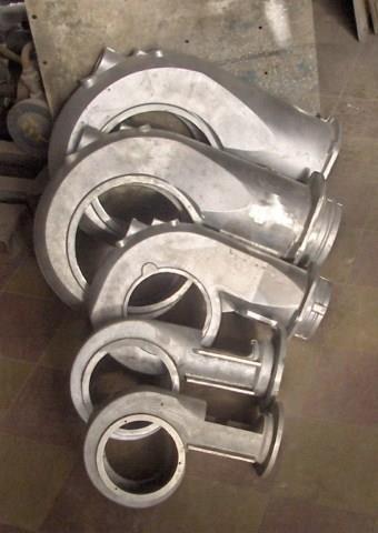 fundicion de aluminio en distintas aleaciones