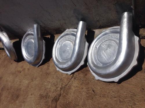 fundición de aluminio y bronce