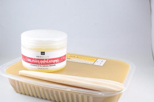 fundidor arcametal +1kg cera + gel postdepilatorio+espatula