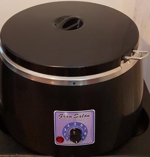 fundidor - calentador de cera 4 kg gran salon