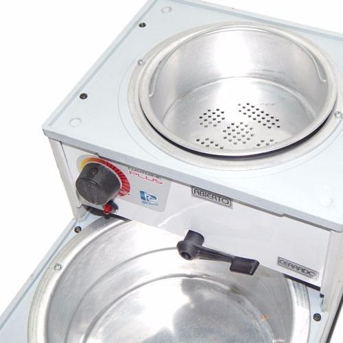 fundidor calentador de cera arcametal plus 2.5 kg + filtro