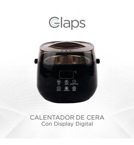 fundidor de cera  con display digital glaps medio kg
