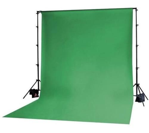 fundo infinito de papel verde chroma key stinger 2,70 x 11 m
