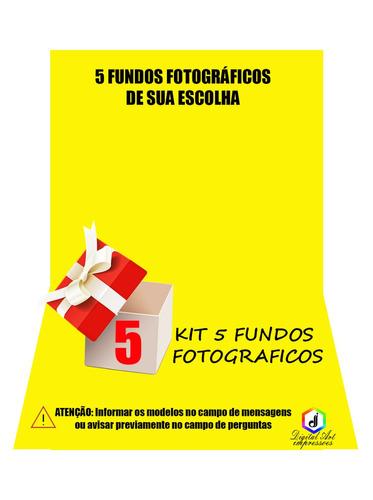 fundos fotograficos festa junina em tecido 2,20x1,50m kit5