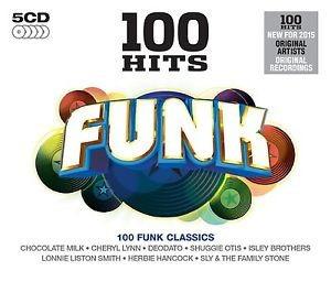 funk classics 100 hits 5 cds nuevos yosif andrey