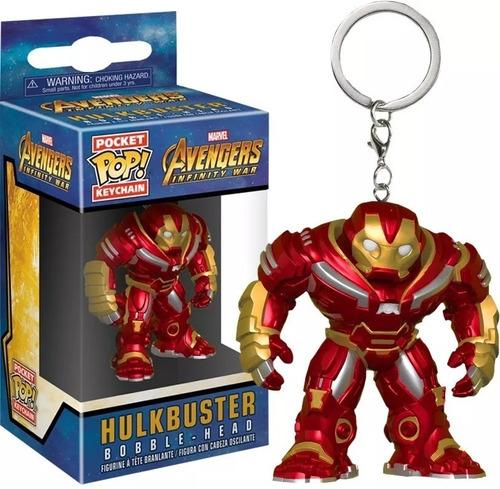 funko avengers hulkbuster pocket pop llavero funkopop z