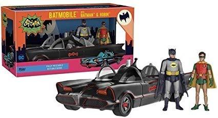 funko batimovil  + batman&robin adam west supertoys