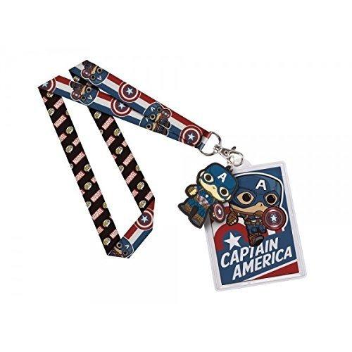 funko captain america pop lanyard   buho store