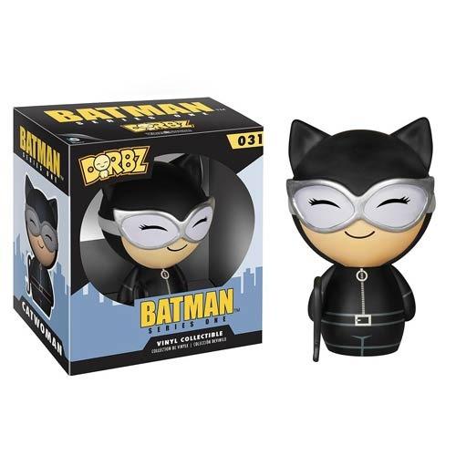 funko catwoman de batman azul dorbz clásico vinyl  dc cómics