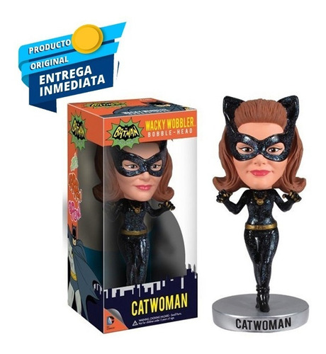 funko dc comics catwoman 1966 wacky wobbler