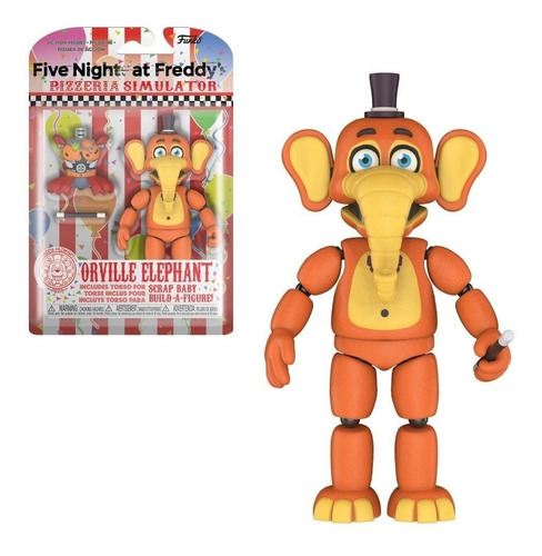 funko five nights at freddy pizza simulator orville elephant