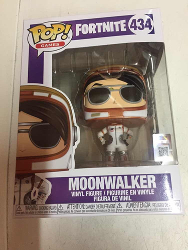 funko fornite moonwalker número 434 nuevo