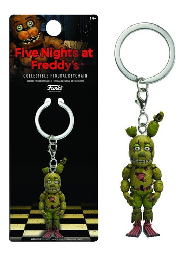 funko keychain five nights at freddy's springtrap nortoys