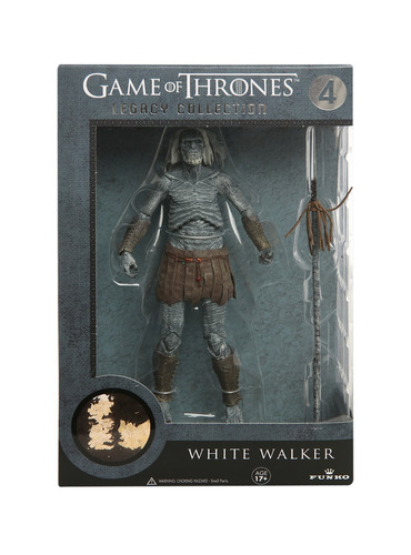 funko legacy action white walker game of thrones got nuevo