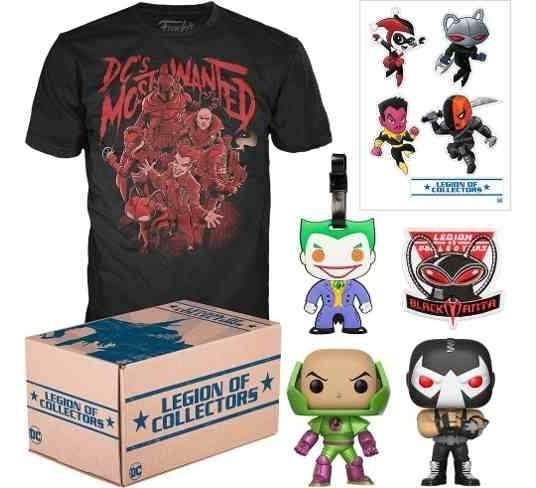 Funko Legion Of Collectors: Dc Most Wanted Box - G