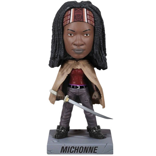 funko - michonne wacky wobbler the walking dead