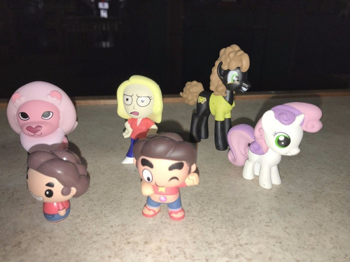 funko mystery minis my little pony lote 4 minifiguras