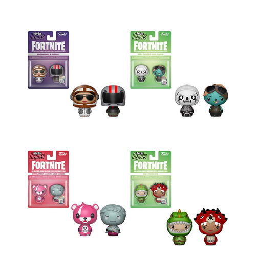 funko pint size fortnite coleccion completa x20 personajes