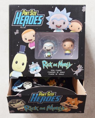 funko - pint size heroes - rick and morty - mini figure