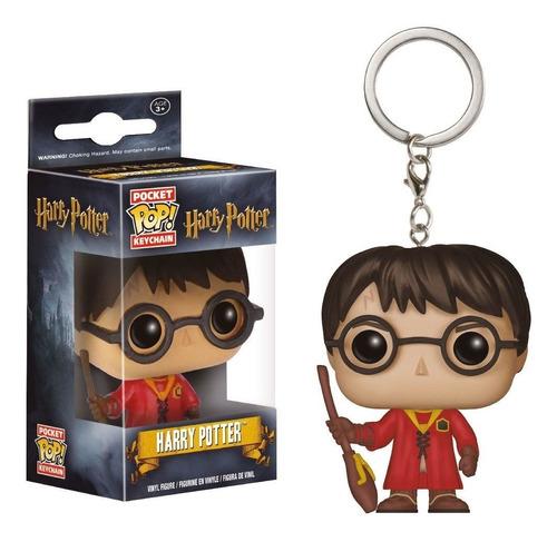 funko pocket pop! harry potter quidditch keychain llavero