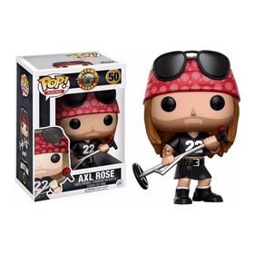 Funko Pop - Axl Rose #50 - Guns N´ Roses. Fyj