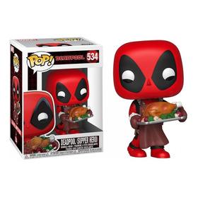 Funko Pop! - Deadpool (supper Hero - Navideño) #534 Original