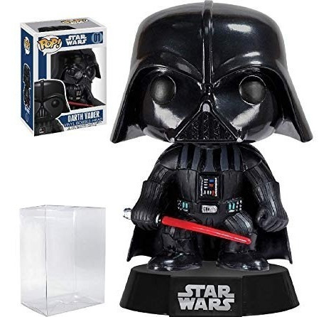 funko pop 01 darth vader star wars - original - woopy