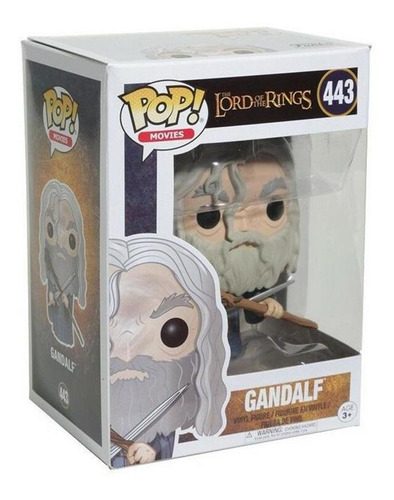 funko pop 13550 lord of the rings gandalf #443 original