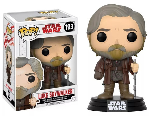 funko pop 193 star wars luke skywalker playking