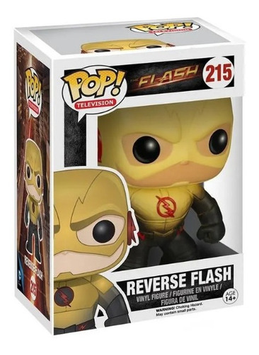 funko pop 215 reverse flash wabro. 5404