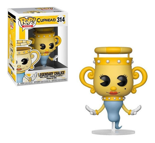 funko pop 314 cuphead - legendary chalice