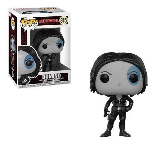 funko pop #315 - marvel - deadpool domino - original!