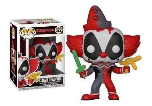 funko pop 322 deadpool clown - deadpool