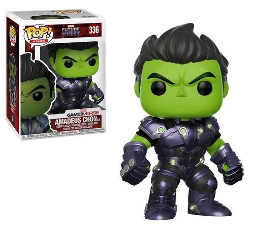 funko pop! 336: marvel future fight: amadeus cho as hulk
