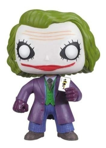 funko pop #36 joker batman the dark knight 100% original