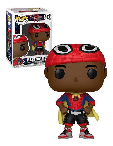 funko pop  #403 animated spider man miles morales nortoys