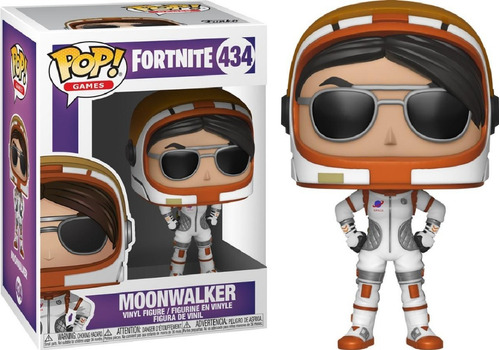 funko pop #434 - moonwalker - fortnite - 100% original