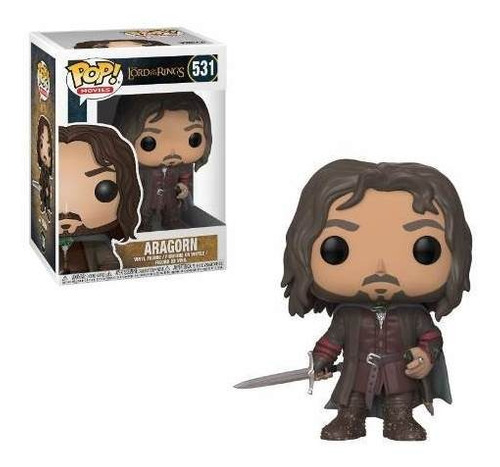 funko pop 531 aragorn the lord of the rings