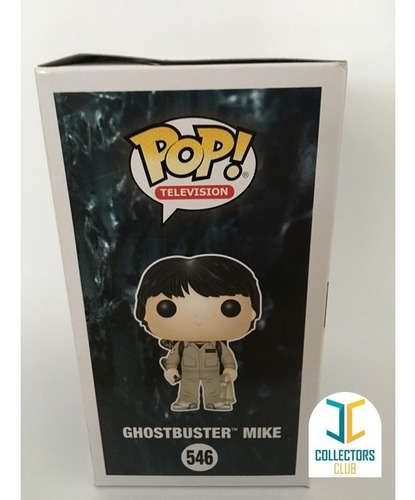 funko pop #546 - ghostbuster mike - stranger things