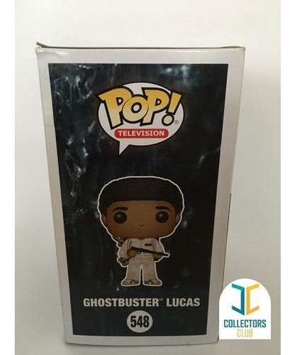 funko pop #548 - ghosbuster lucas - stranger things