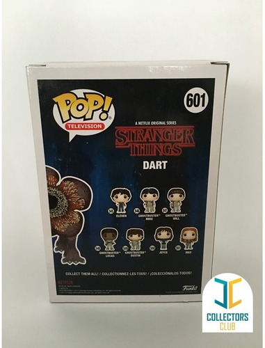 funko pop #601 stranger things dart