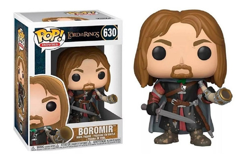 funko pop #630 - boromir - lord of the rings - 100% original