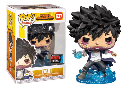 funko pop #637 dabi my hero academia - 2019 fall convention!