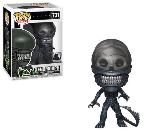 funko pop - # 731 alien 40 aniversario xenomorph en stock