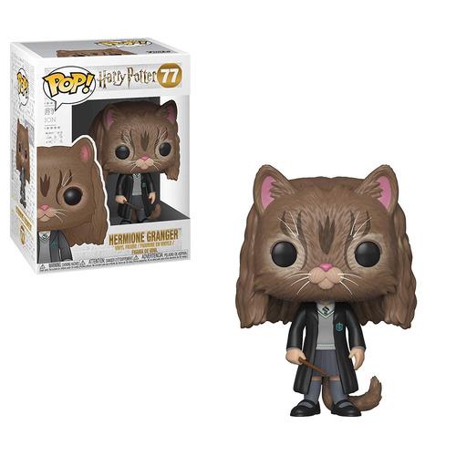 funko pop 77 harry potter - hermione as cat